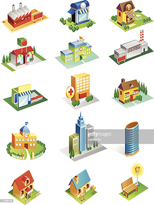 انواع ساختمان